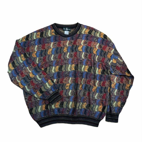 Mac Divots Canada Pullover Sweater Coogi Style 2XL